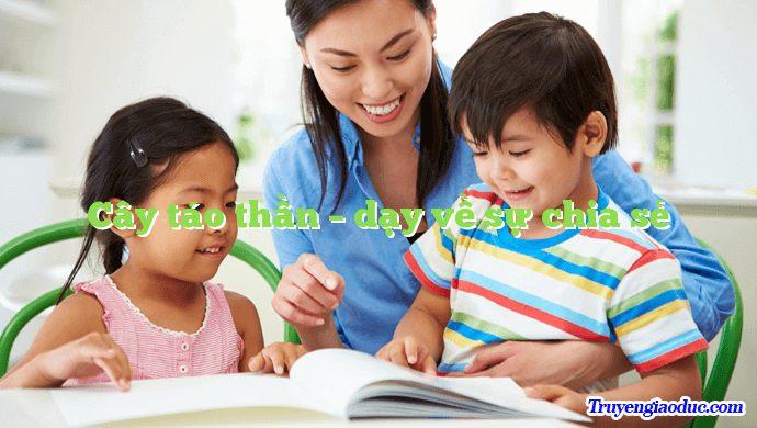 Cây táo thần – dạy về sự chia sẻ