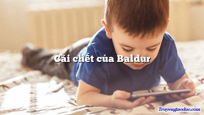 Cái chết của Baldur