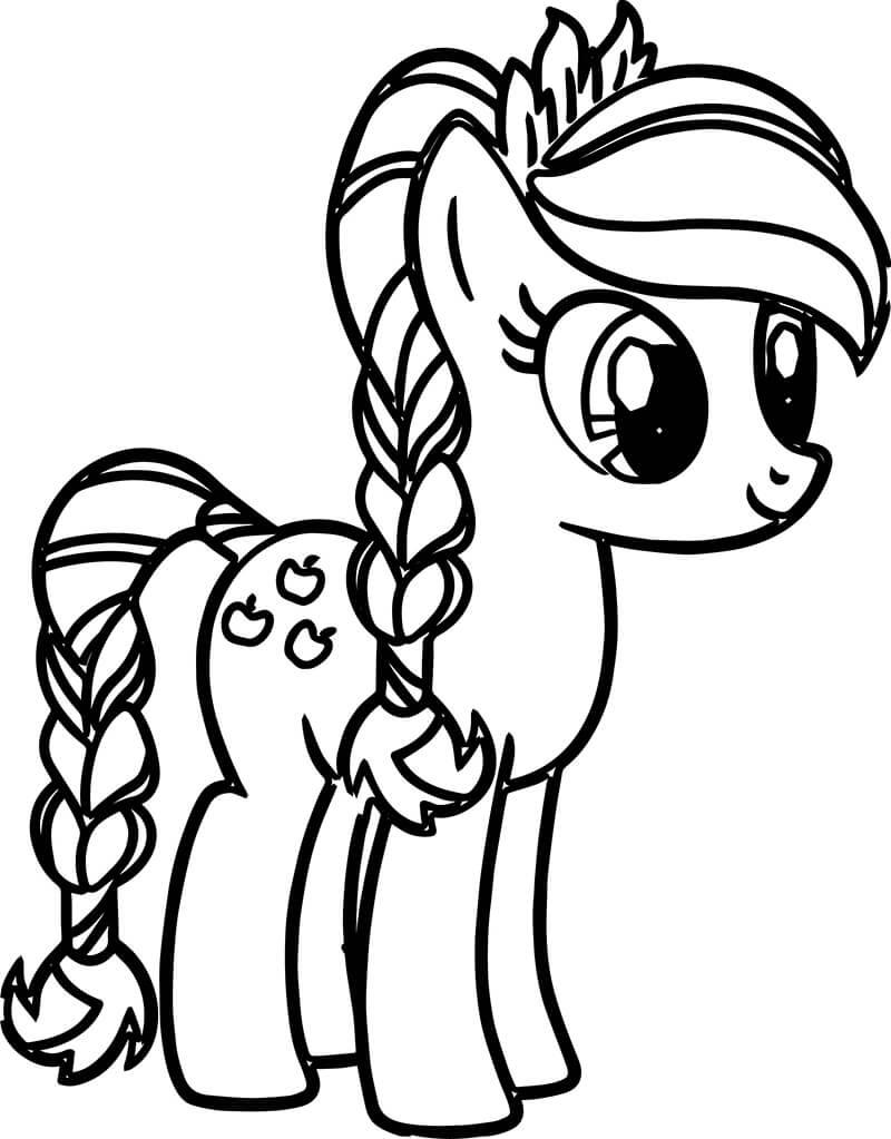 357 tranh to mau ngua cho tre em ham mo trong loat phim hoat hinh - 357+ Tranh Tô màu Ngựa cho trẻ em hâm mộ trong loạt phim hoạt hình