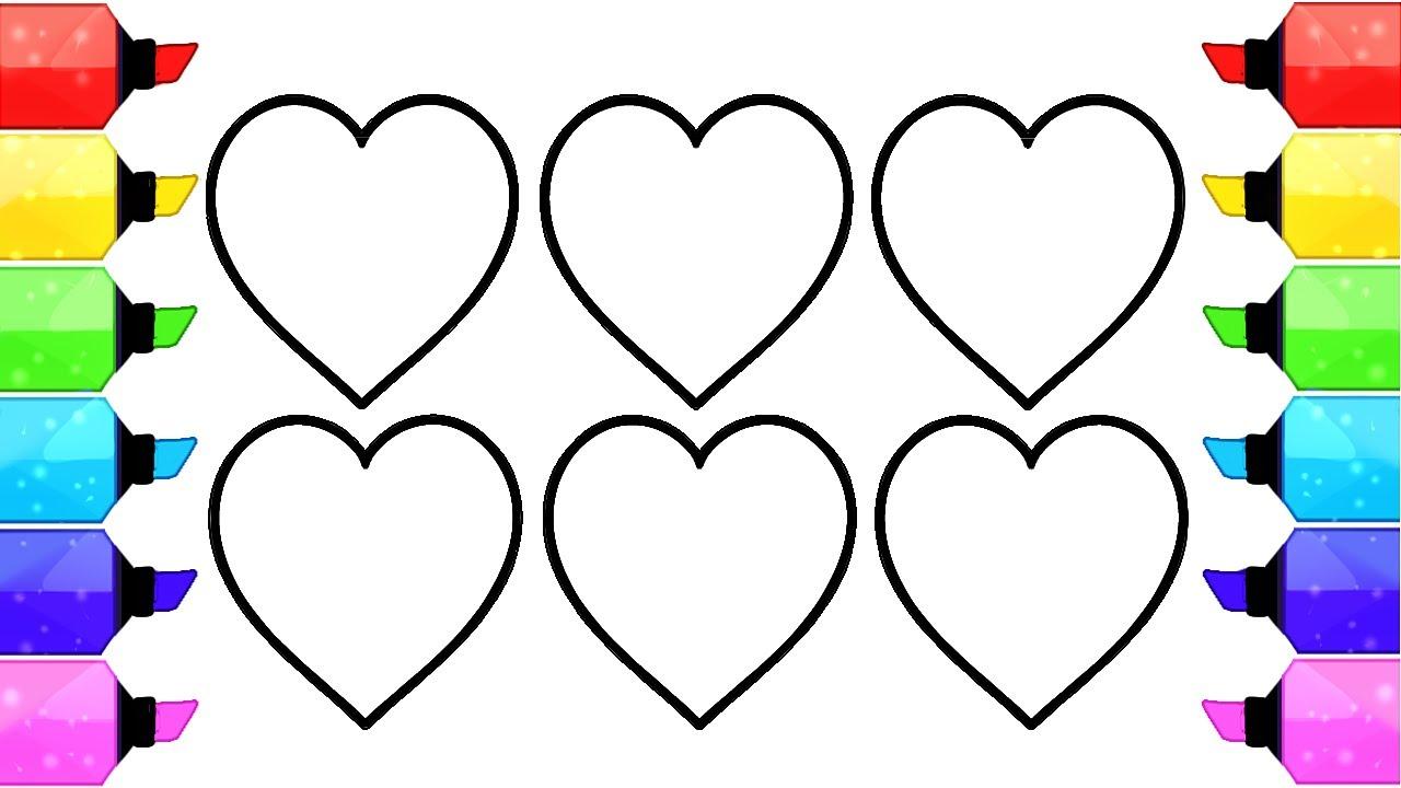 50 buc tranh to mau hinh trai tim dep nhat danh tang cho be 22 - 50+ bức tranh tô màu hình trái tim đẹp nhất dành tặng cho bé