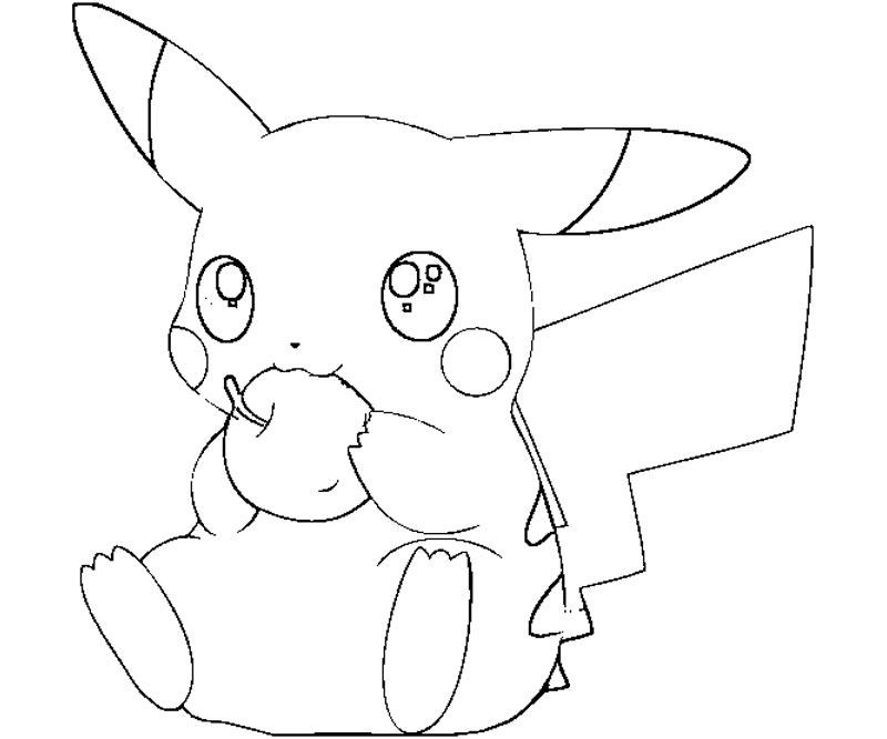 50 buc tranh to mau pikachu dep 19 - 50+ bức tranh tô màu Pikachu đẹp