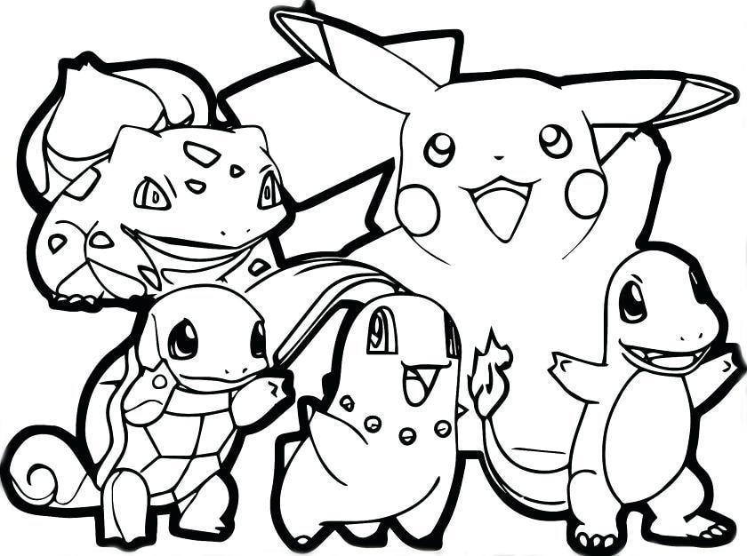 50 buc tranh to mau pikachu dep 2 - 50+ bức tranh tô màu Pikachu đẹp