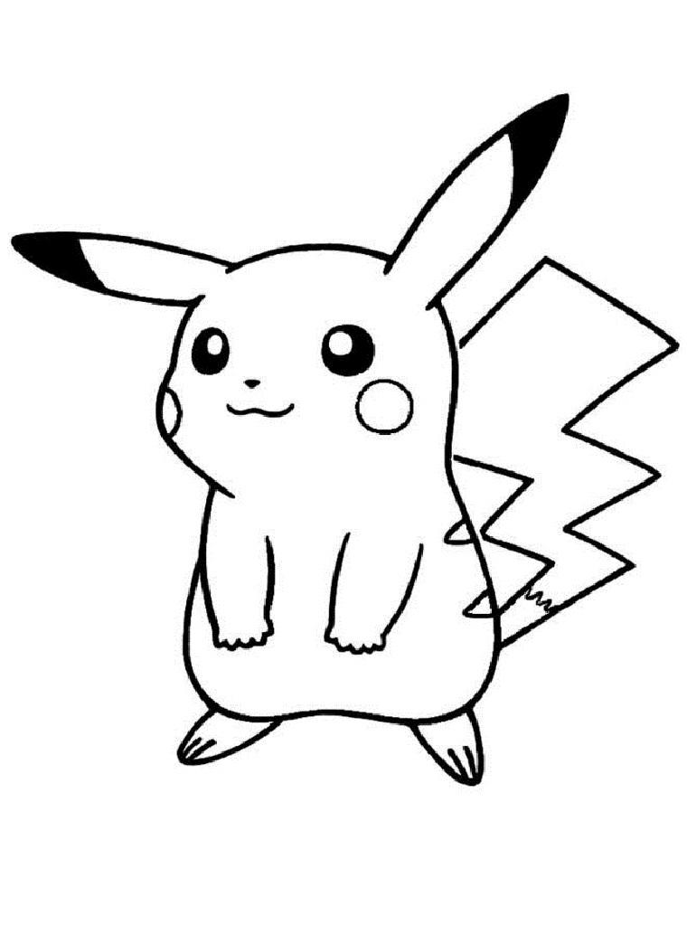 50 buc tranh to mau pikachu dep 27 - 50+ bức tranh tô màu Pikachu đẹp