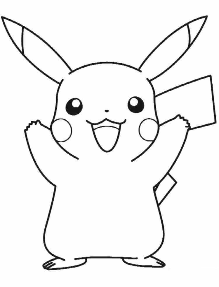 50 buc tranh to mau pikachu dep 28 - 50+ bức tranh tô màu Pikachu đẹp