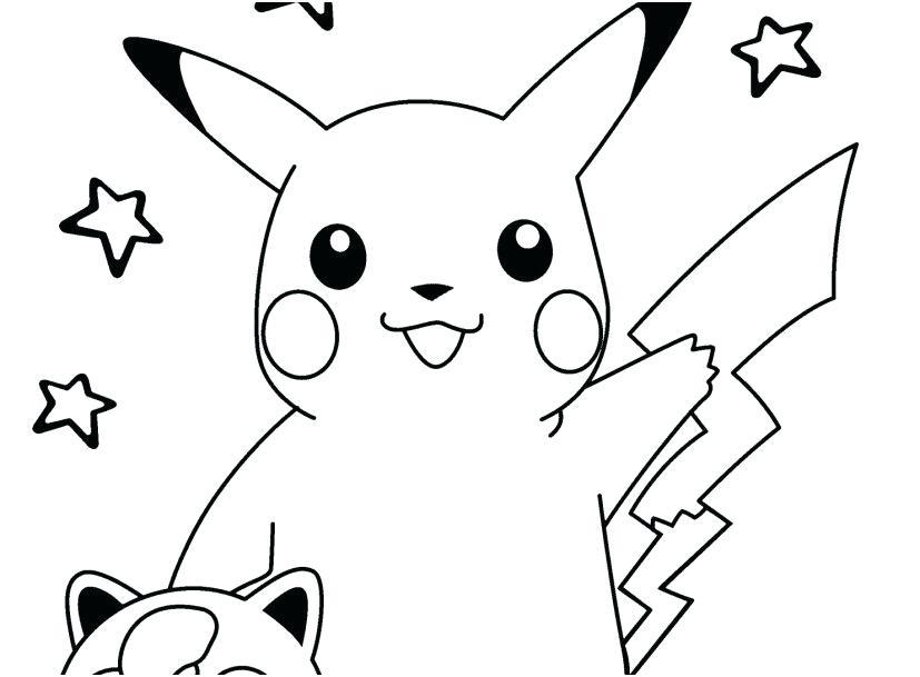 50 buc tranh to mau pikachu dep - 50+ bức tranh tô màu Pikachu đẹp