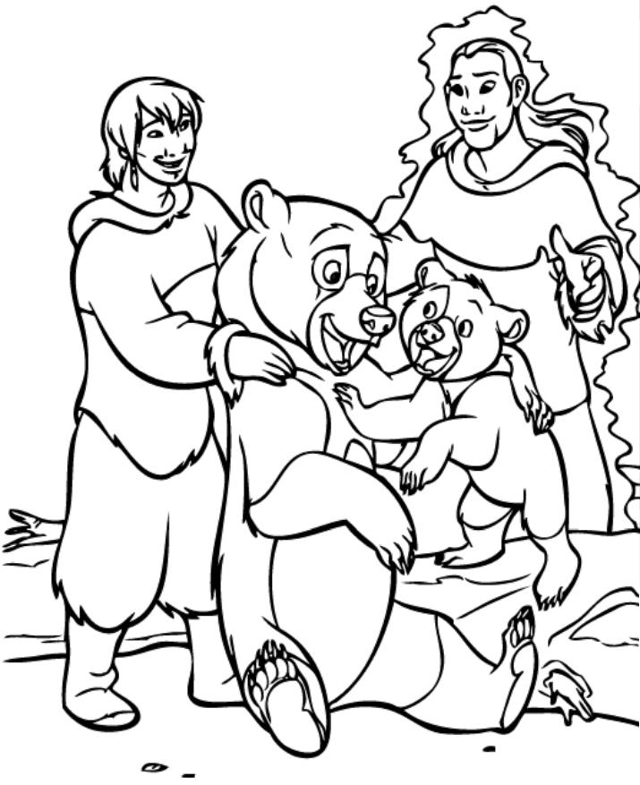anh em nhà gấu đang vui vẻ