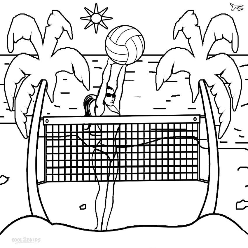 bóng chuyền bãi biển