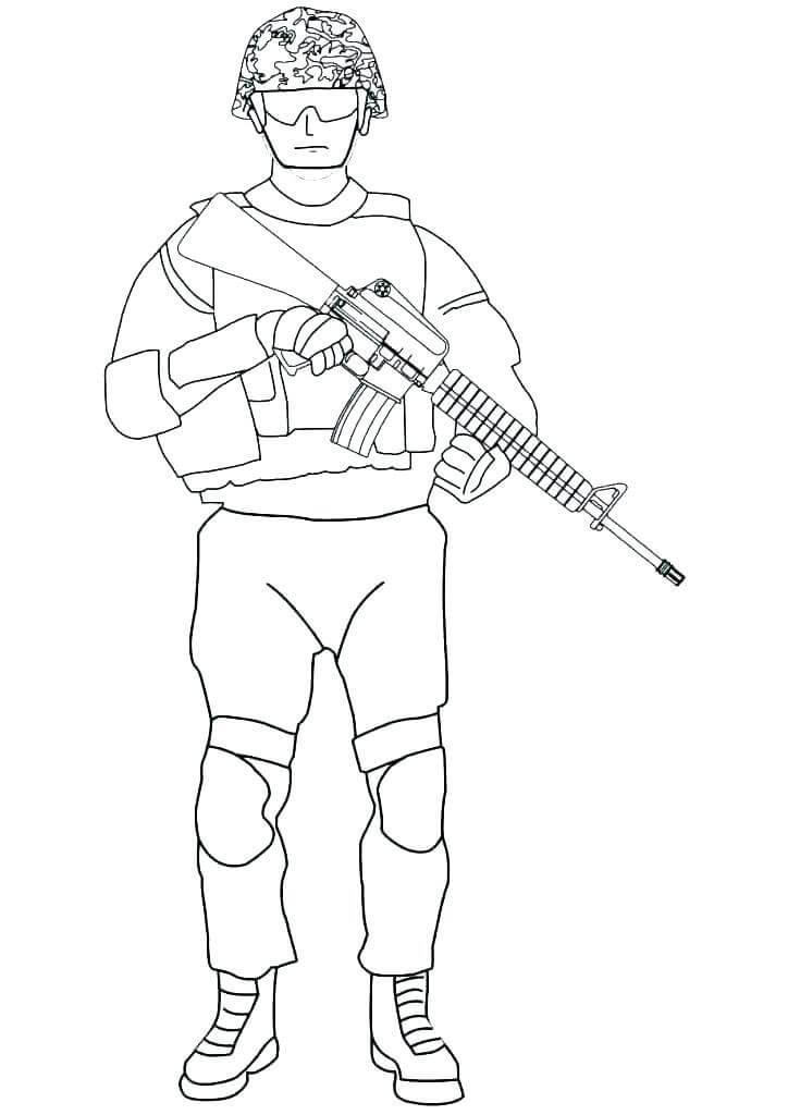 Chú Bộ Đội Đặc Nhiệm