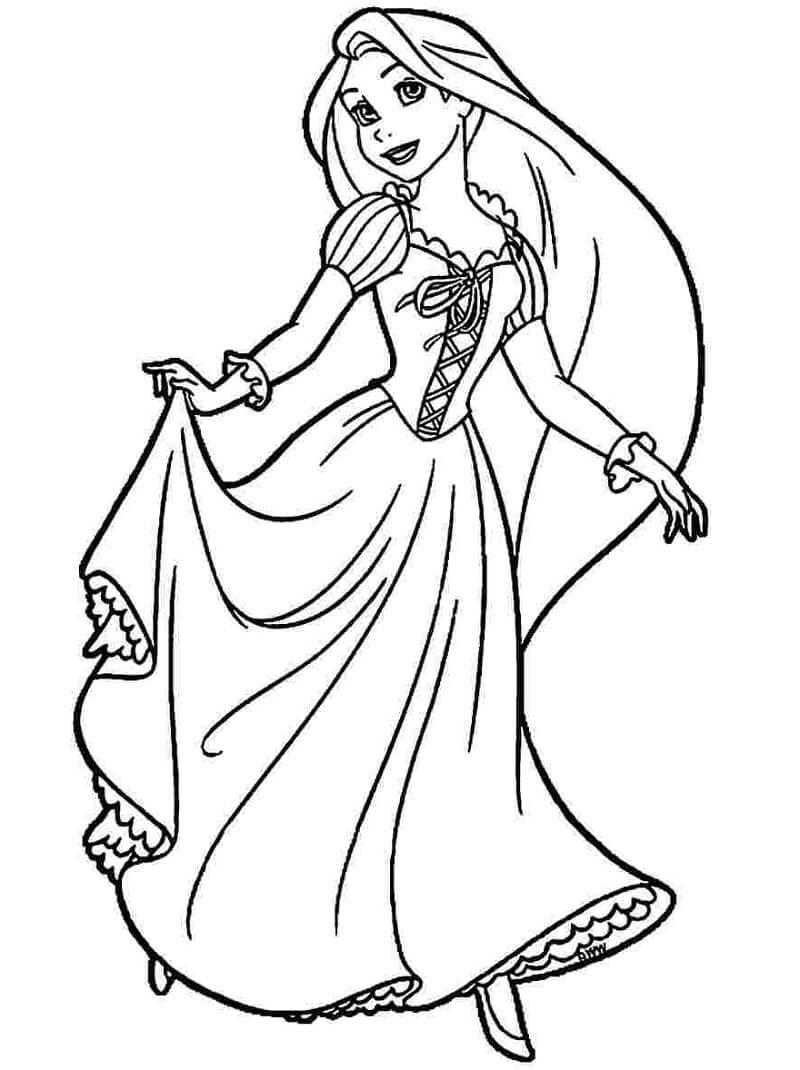 Công Chúa Rapunzel Dịu Dàng