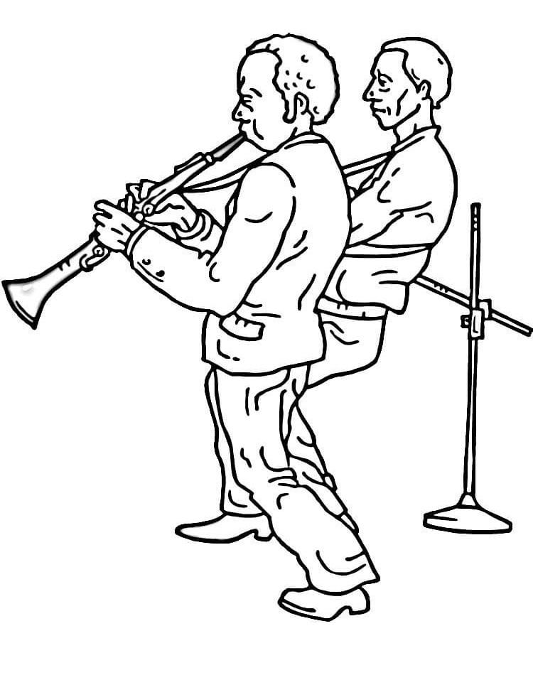 ban nhạc clarinet