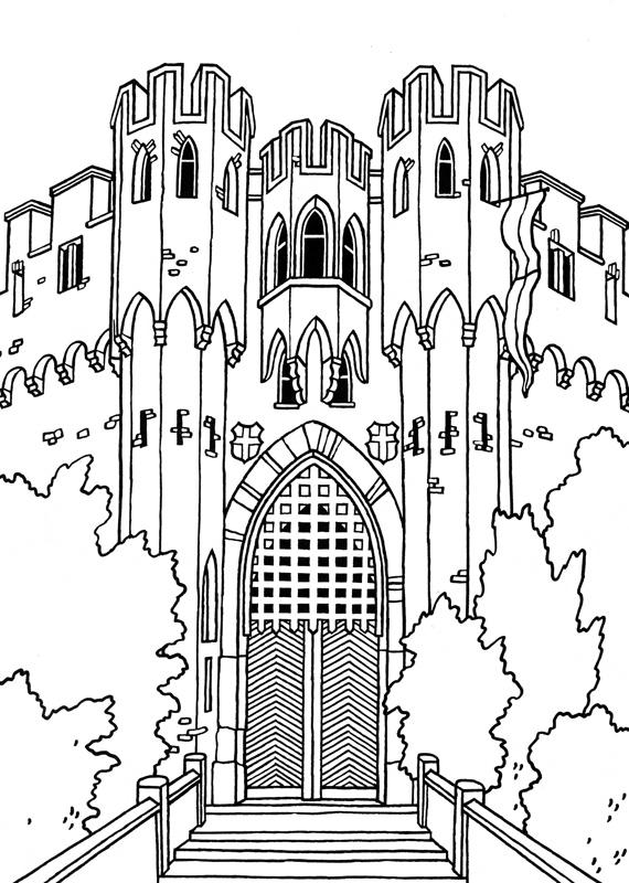 lâu đài lahneck ở đức
