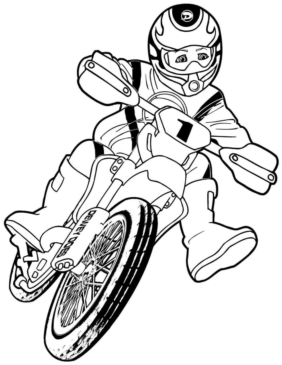 bé lái xe máy